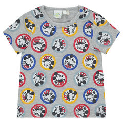 Camiseta de manga corta Disney con estampado de Mickey all over