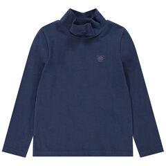 Sous-pull en jersey col cheminée