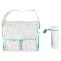 Bolso para bebé estampado con bolsa isotérmica