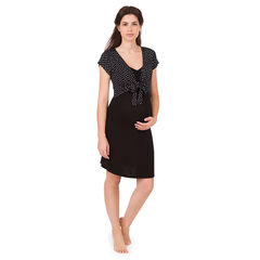 Camisa de noche de embarazo y lactancia