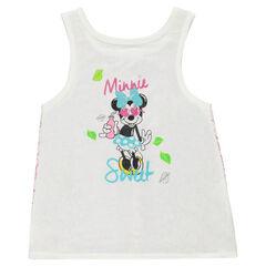 Camiseta de tirantes Disney Minnie con espalda de encaje