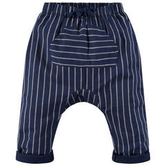 Pantalón con forma de srouel y bolsillo de canguro