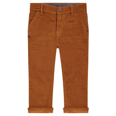 Pantalón de pana fina