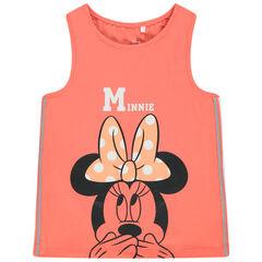 Débardeur print Minnie Disney à bandes , Orchestra