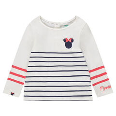 Marinera de punto con estampado de Minnie ©Disney y rayas estampadas