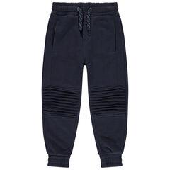 Pantalón de chándal de felpa con juego de pespuntes