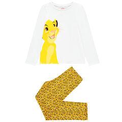 Pyjama en coton bio pour enfant fille print Simba Disney , Orchestra