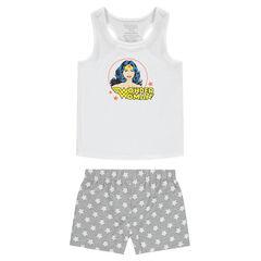 Júnior - Pijama corto de punto con estampado de Wonder Woman ©Warner