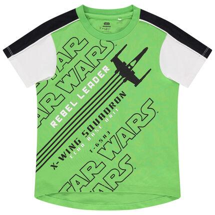 Camiseta de manga corta con inscripción de Star Wars