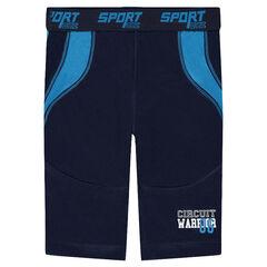 Pantalón de ciclista con apliques que contrastan