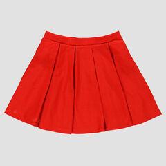 Falda plisadas de crepé
