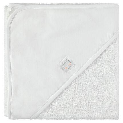 Capa de baño de rizo de algodón