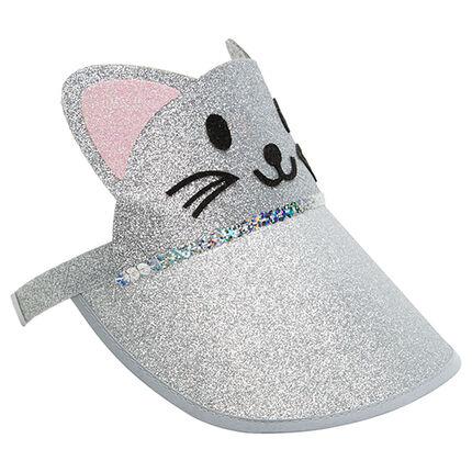 Gorra de gato con brillos all over
