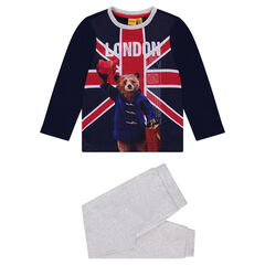 Pijama de interlock con estampado ©Paddington