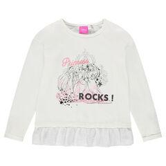 Camiseta con volantes Disney con princesas estampadas