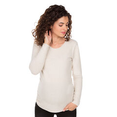 Jersey premamá de punto liso y suave