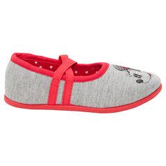 Zapatillas bajas Disney Minnie con tirantes elásticos