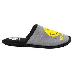 Zapatillas bajas de punto con estampado Smiley
