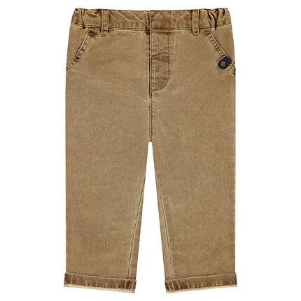 98f14c72d Pantalón de algodón de fantasía con forro de punto - Orchestra ES