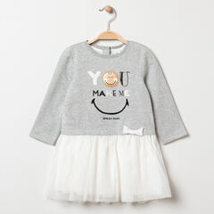 Robe manches longues effet 2 en 1 Smiley Baby , Orchestra