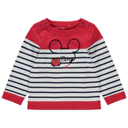 Marinera con rayas estampadas y Mickey Disney