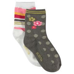 Juego de 2 pares de calcetines variados