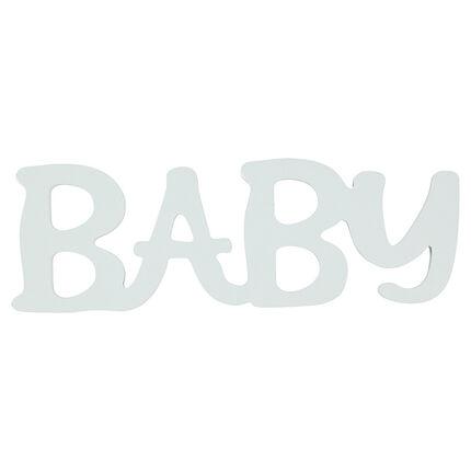 """""""BABY"""" de madera pintada"""