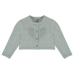 Chaqueta de algodón y lana