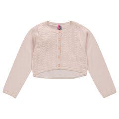 Júnior - Chaqueta fina de algodón liso