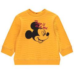Sudadera de felpa de estilo otomano con estampado de Mickey Disney