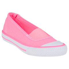 Zapatos merceditas con sujeción mediante elástico de tela