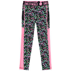Legging deportivos con estampado all over Smiley