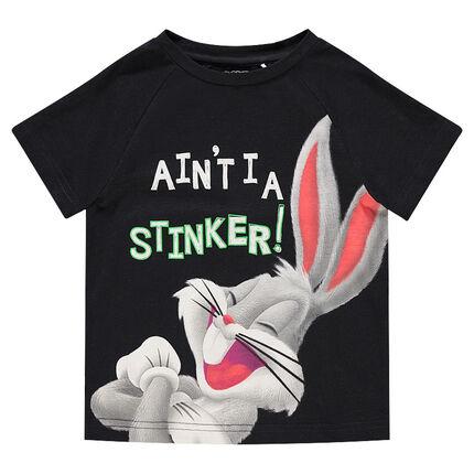 Camiseta de manga corta con estampado de Bugs Bunny ©Warner/Looney Tunes