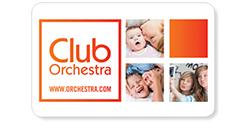 Tarjeta del Club Orchestra