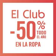 El Club: descuentos de hasta el 50% durante todo el año